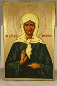 Икона Матронушки Московской