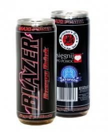 Вредным компонентом напитка Blazer является небезызвестное химическое соединение бензоат натрия