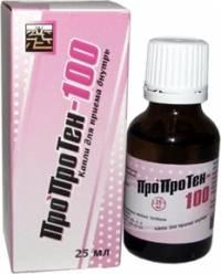 Одним из самых популярных средств, применяющихся и как аналог, и как дополнение к цианамидовому лекарству, является Пропротен-100