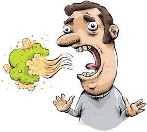Такое состояние называется «перегаром», а аромат изо рта специфический – уксусная кислота
