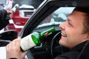 Управление транспортным средством в состоянии алкогольного опьянения