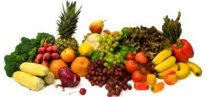 Овощи и фрукты способствуют ускорению выведения токсинов