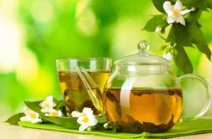 Помогает очистить кровь зеленый чай