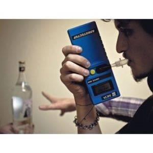 Проверка алкотестером дома