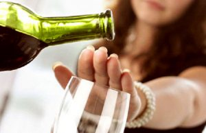 При приеме препарата нужно отказаться от алкоголя
