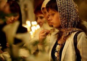 крестное знамение