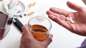 Спиртное уменьшает лечебное действие препарата