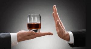 Если есть гипертония, то лучше отказаться от употребления алкоголя