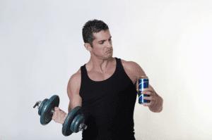 Алкоголь влияет на рост мышц