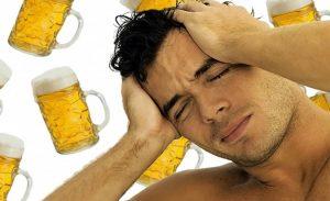 Причиной головных болей может стать пиво низкого качества или несоблюдение условий хранения продукта