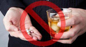 Совместный прием Ибуклина с алкоголем недопустим