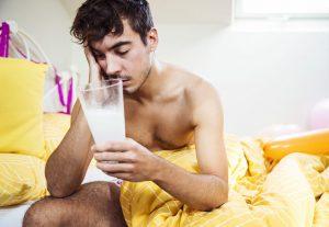 При интоксикации пить нужно напиток со щелочным свойством